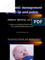 Nasoalveolar Moulding / orthodontic courses by Indian dental academy