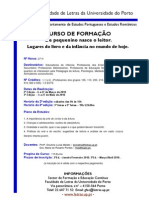Informações sobre Acções de Formação