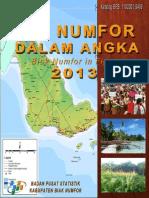 Biak Numfor Dalam Angka 2013