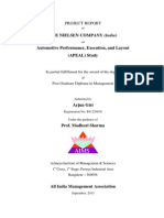 ARJUN GIRI Project Report-Nielsen