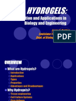 Hydrogels Introductionandapplicationsinbiologyanden 130413013246 Phpapp01