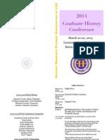 2014 LSU Graduate Conference Program