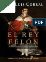 El Rey Felón (Francisco de Faria 3) - Jose Luis Corral