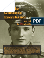Amado Giménez Escribano, Su Vida Era La División Azul