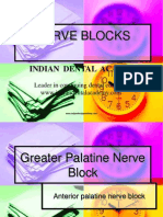 Nerve Blocks / orthodontic courses by Indian dental academy