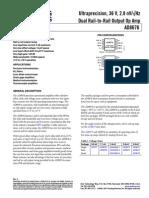 AD8676 datasheet