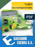 Acessorios Montagem Splits Preçario SalvadorEscoda