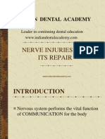 Nerve Injuries / orthodontic courses by Indian dental academy