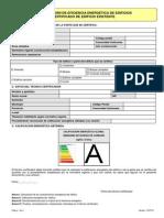 Certificaci-n de Eficiencia Energ-tica de Edificios Certificado de Edificio Existente