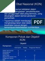 Kebijakan Obat Nasional (KON).ppt