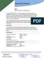 F. Tecnica Amberlite MB9L