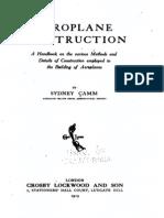 Aeroplane Construction - Sydney Camm