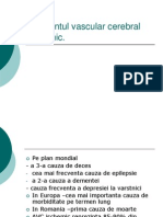 Accidentul Vascular Cerebral Ischemic.ppt MAI 2011
