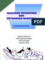 Wasantra Dan Tannas (PKN) Rahman Mulyawan Wawasan Nusantara