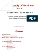 Nerve Supply of Head and Neck-1 (NXPowerLite) / orthodontic courses by Indian dental academy