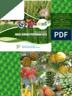 Sensus Pertanian MAbar 2013