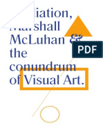 Mediation, Michael McLuhan and the conundrum of visual art