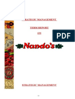 NANDOS Final Strategic Mgt Report