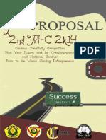 Proposal Tri-C 2k14 FKG UNEJ
