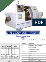 cnc programiranje