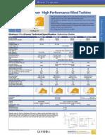 Shaheen Wind Turbine Datasheet