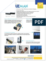 Uzman Solar Inverter Datasheet