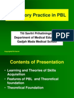 Laboratory Practice in PBL