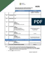 Kalendar Akademik Kokurikulum a131