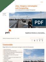 Boletín de Consultoría Gerencial - N° 3 - Beneficios, riesgos y estrategias del Cloud Computing
