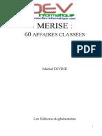 Merise 60 Affaires Classées Par Michel Diviné