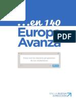 En 140 Europa Avanza