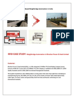 RFID based Bhushan Steel Weighbridge Automation Casestudy