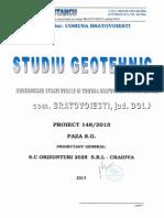 Studiu geotehnic