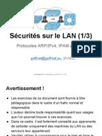 Sécurités sur le LAN (1-3)