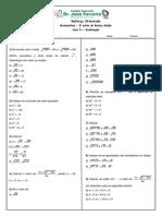 Reforco Matematica Em Radiciacao Atividade 5