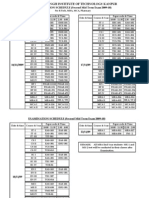 Iind Mid Exam Schedule Nov 09