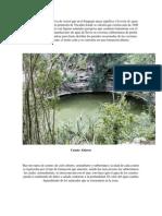 La Palabra Cenote Se Deriva De
