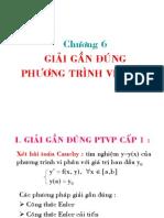 Chuong 6 - Giai Gan Dung Pt Vi Phan