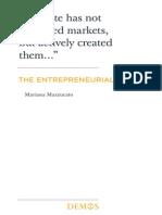 Entrepreneurial State - Mariana Mazzucato