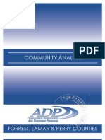 Hattiesburg Metropolitan Area Demographic Study