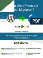 Wie Sie WordPress auf Drupal Migrieren Mit CMS2CMS