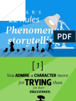 Pixars 22 Rules To Phenomenal Storytelling