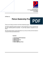 Dealership Primer Application Form