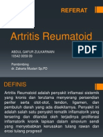 Slide Referat Artritis Rematoid Gafuran