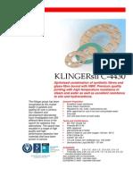 Klingersil C-4430 Data
