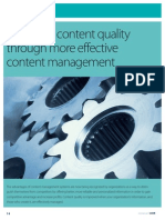 Improved Content Quality Through Effective Content Management