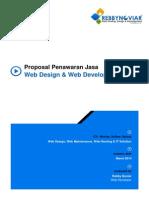 Proposal Web Design - Rebbynoviar.com