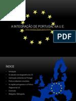 A Integração de Portugal Na UE