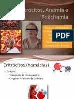Eritrócitos, Anemia e Policitemia