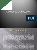 LP 1 - Examenul Microscopic Refacut